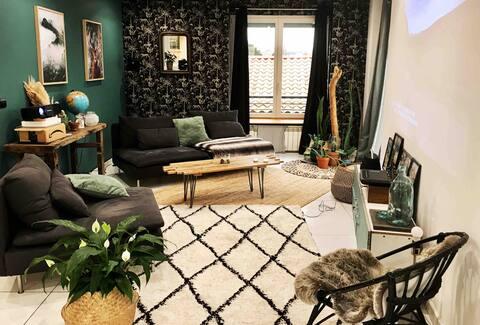 ~Le Repère~ тихая и теплая квартира площадью 60 м2
