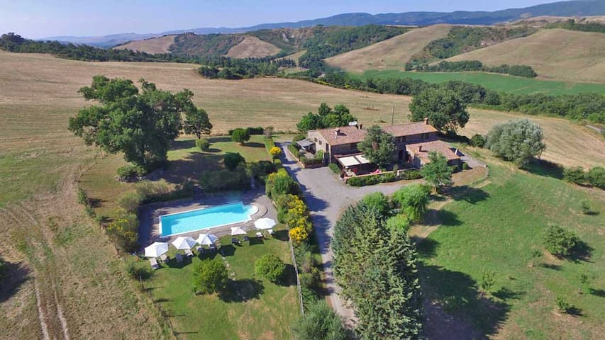 Apartment in Country House in Pienza - Pienza - Huoneisto