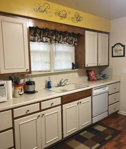 Spacious home in small town Missouri