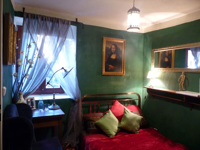 Cabinet - Decadent Green Room - 捷克克魯姆洛夫(Český Krumlov)