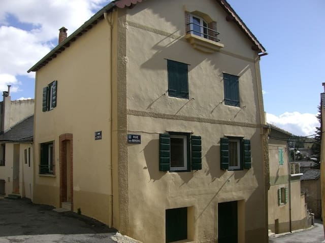 rez de chaussée maison de village
