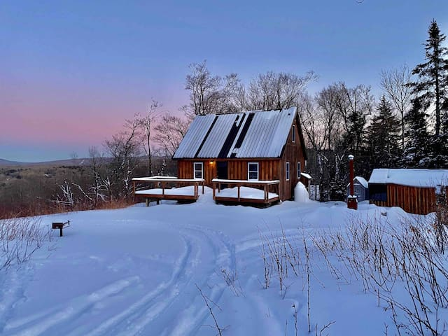Off the Grid Cabin ~ Escape to VT