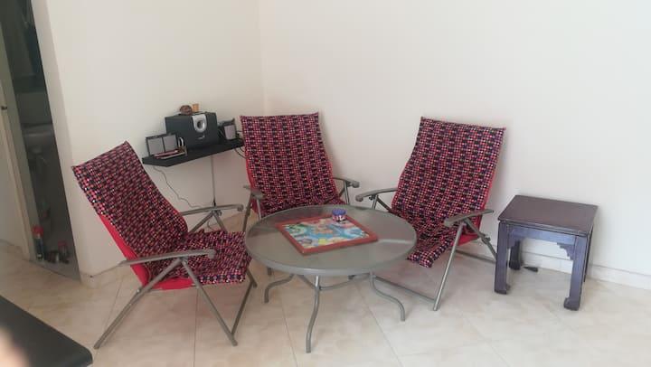 Apartamento independiente especial para descanso