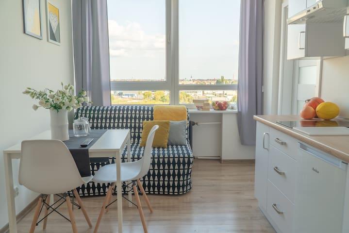 Apartamenty Złota 71 z widokiem na miasto