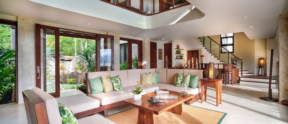 Inside the Villa: Lazy days to chill, relax, and watch the world go by.