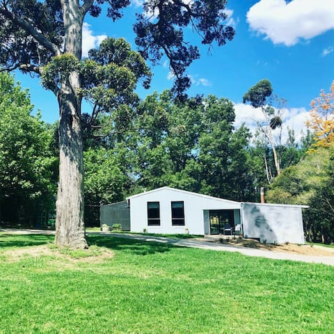 Woodland Studio is set on our 10 hectare tree studded farm at Exeter. The perfect place for a relaxing city break and to explore the gorgeous Southern Highlands.