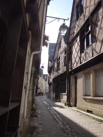 Medieval house in quartier médiéval - Chinon - Talo