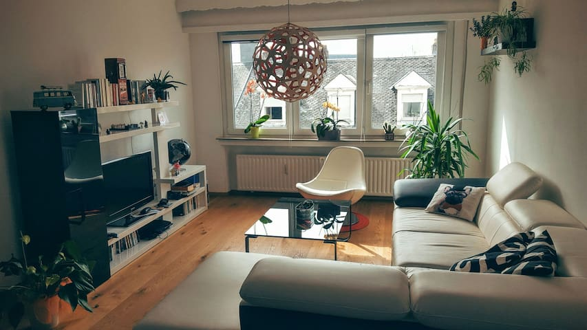 Nice 2 bedrooms flat with balcony - Luxemburg - Appartement