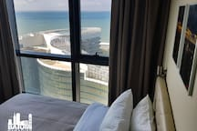 Bedroom with a view of the Black Sea.