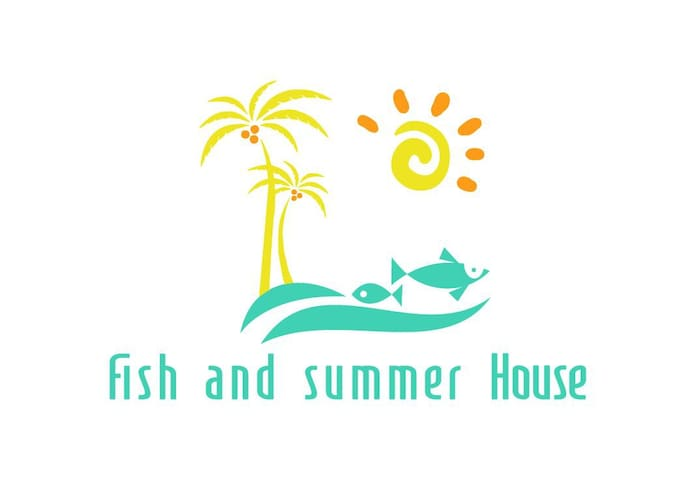 Fish and summer house