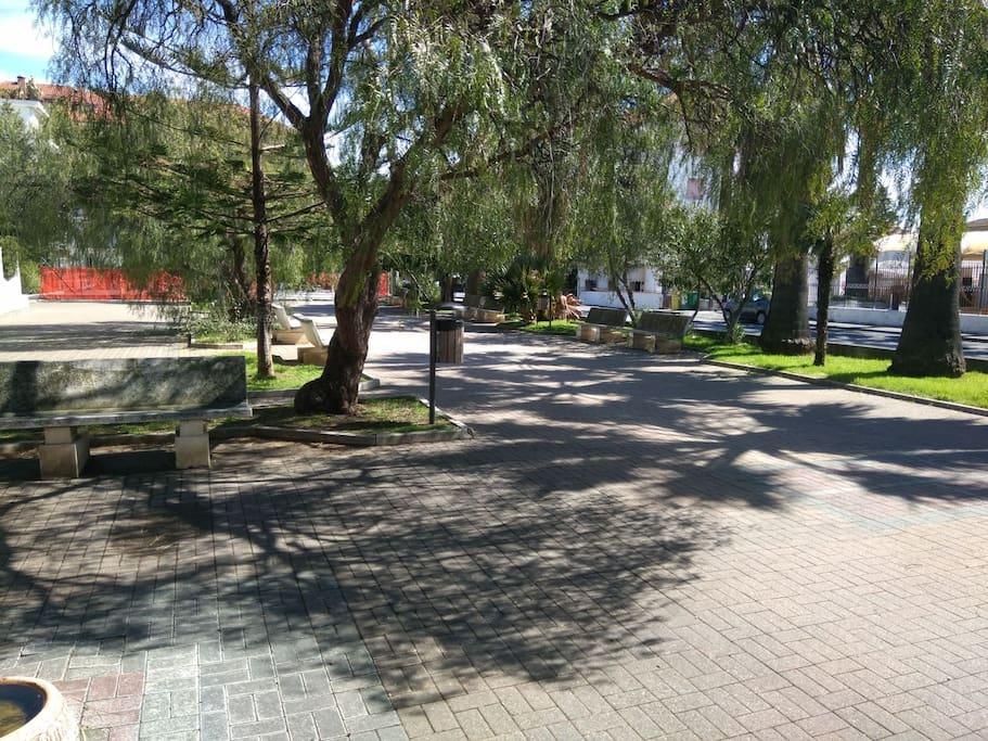 giardino botanico e parco giochi
