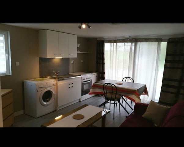 charmante petite maison meublée T 2 - Louannec - Apartemen