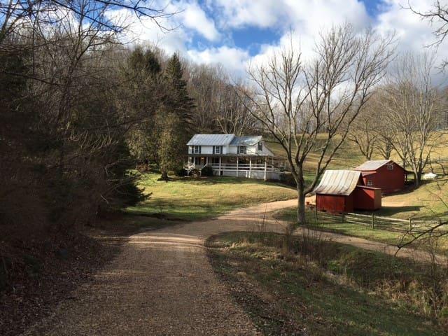Country retreat near Lexington, Va