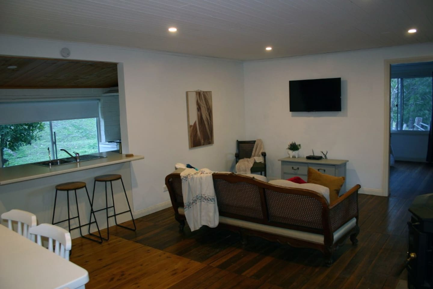 Lounge Room with Flatscreen Television