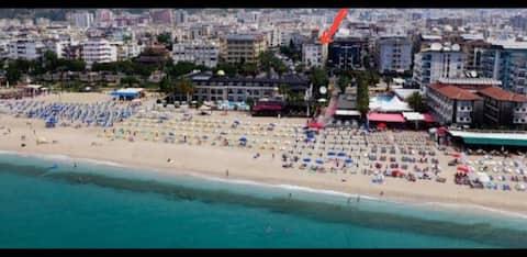 Alanya cleopatra beach 1+1