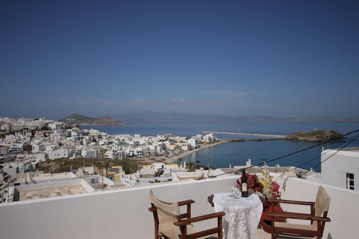 Evilion special studio (sea view) 2-3 adults - Naxos - Appartement