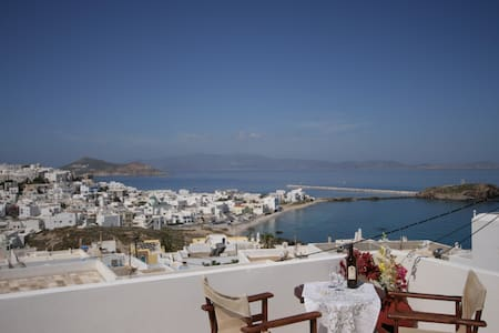 Evilion Terrace- studio (sea view) 2-3 adults