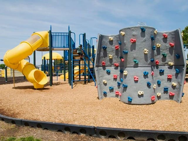Playgrounds for kids of all ages!