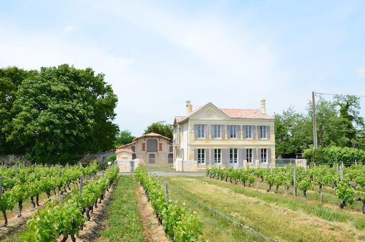 Family Château, prestigious vineyards and ocean