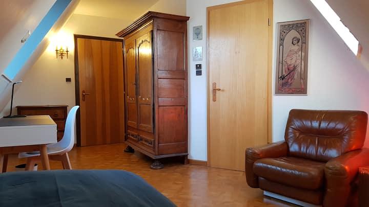 Chambre Simple Calme sur Parc Contades - Rue Lamey
