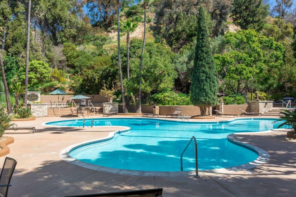 Large Pool on property