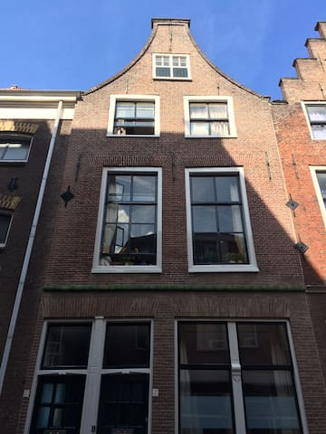 Lovely old house in the center of Leiden - Leiden - Apartamento
