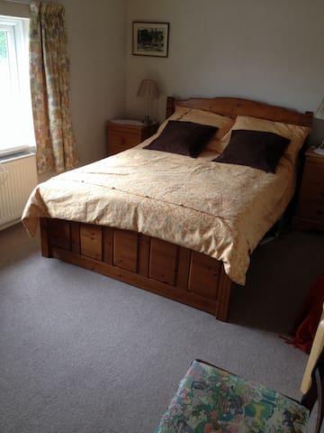 Spacious room in friendly home. Sleeps 3.