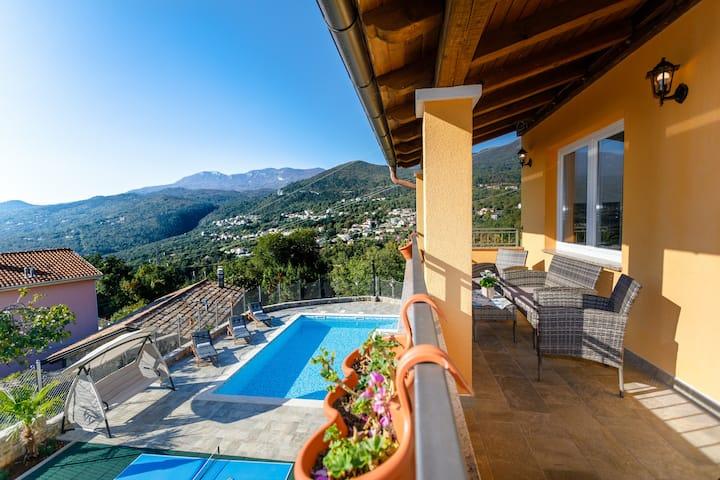 Villa Ivetta with Kvarner Bay Sea View ⛵
