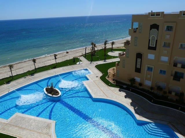 Studio luxueux dans la residence Folla - Hammam Sousse - Flat