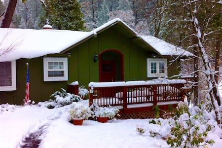 Bright and cozy en suite at snow line - Dutch Flat - House
