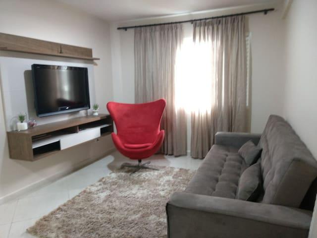 Apartamento lindo e aconchegante no centro de Foz.