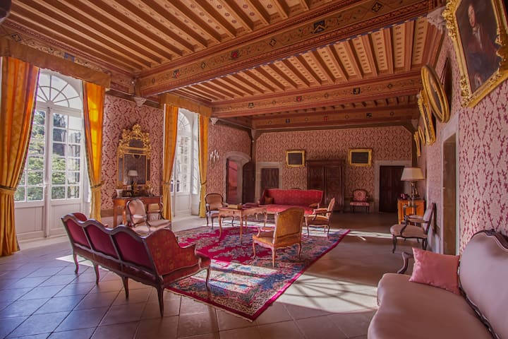 Château d'Agel chambre chinoise - Agel - Bed & Breakfast