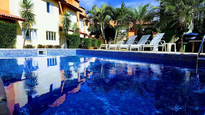 Villaggio são lourenço casa 14-900 metros da praia