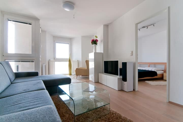 cozy apartment in historical Viennese Gasometer