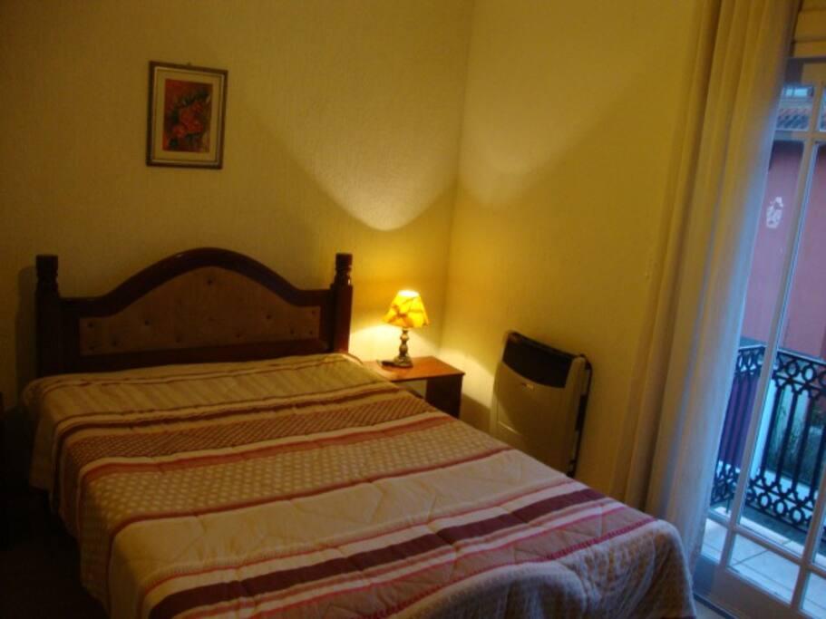 Suite 1: cama de casal
