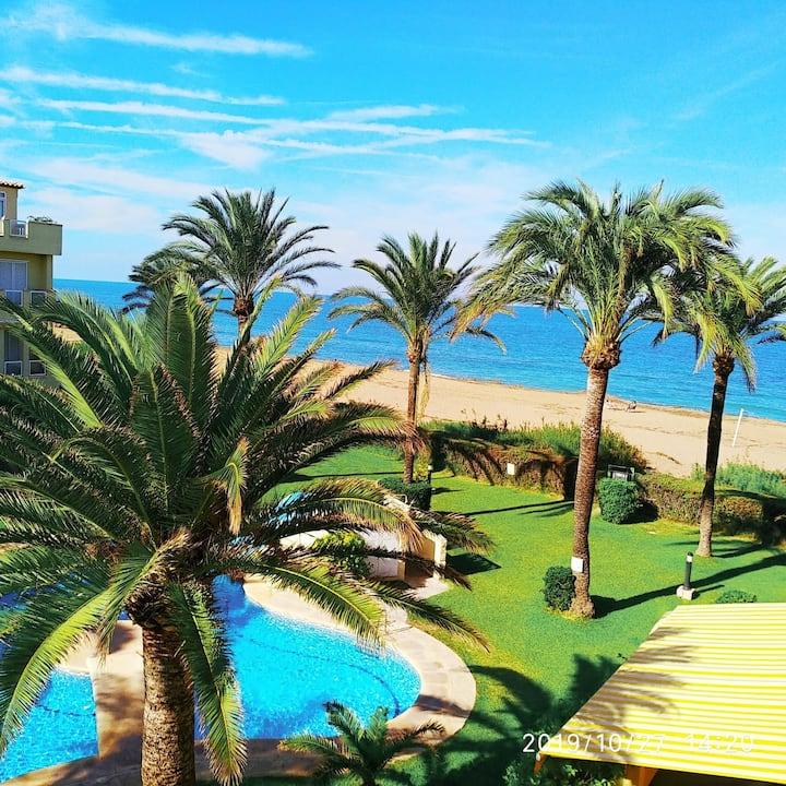 Bonito apartamento frente al mar a 50m de la playa