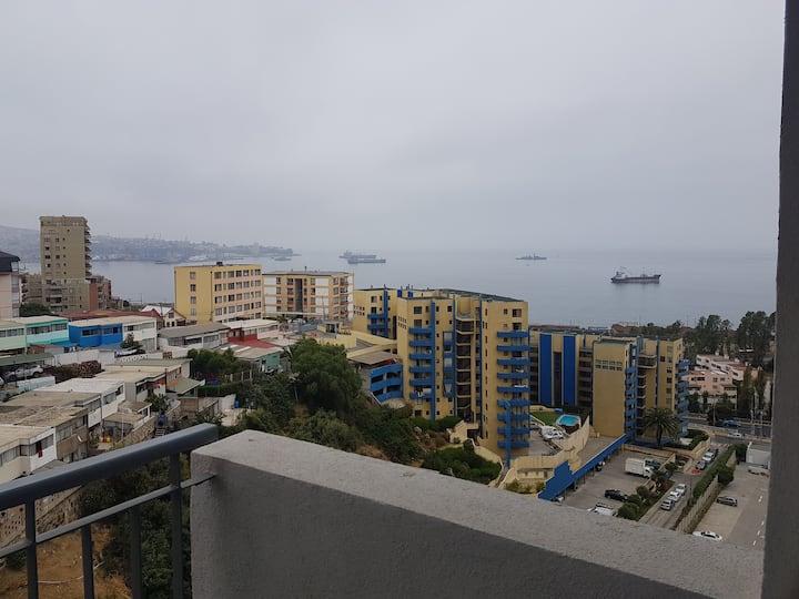Departamento Valparaíso Maximo 5 personas.