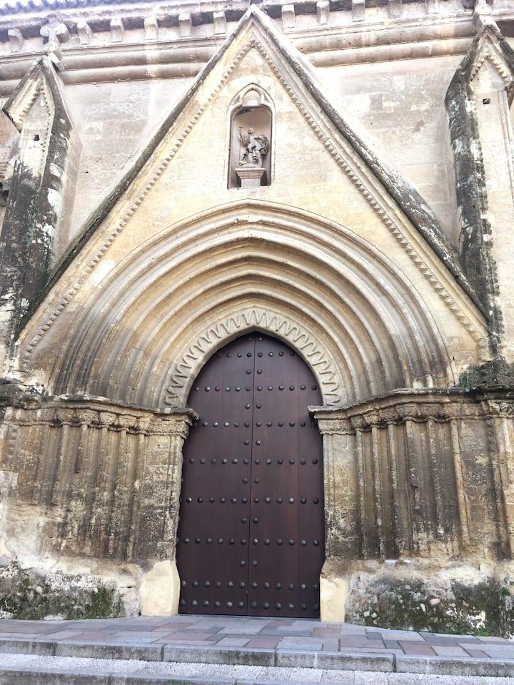 Gothic side entrance
