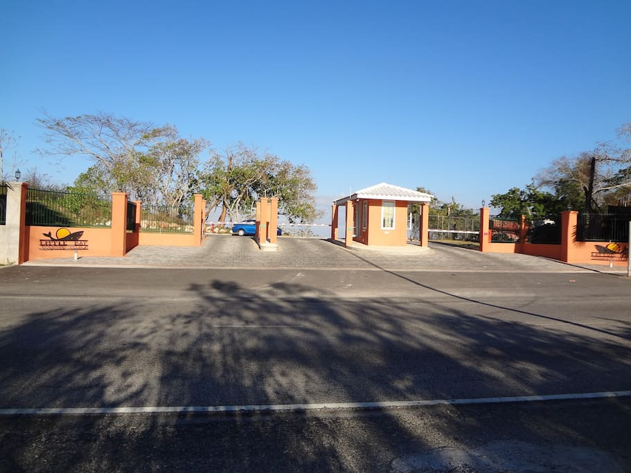 Entrance/Security Depot