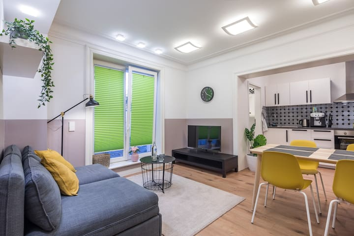 Exclusive&cosy with new bathroom next to U-Station