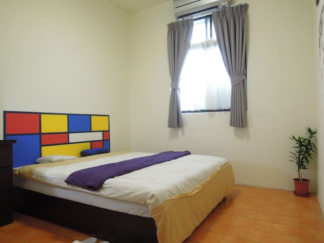 New Taipei City/ Luzhou Dist./ River-view room - Luzhou District - Appartement