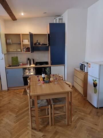 Prague 1 center, 2 rooms flat, 2+kk