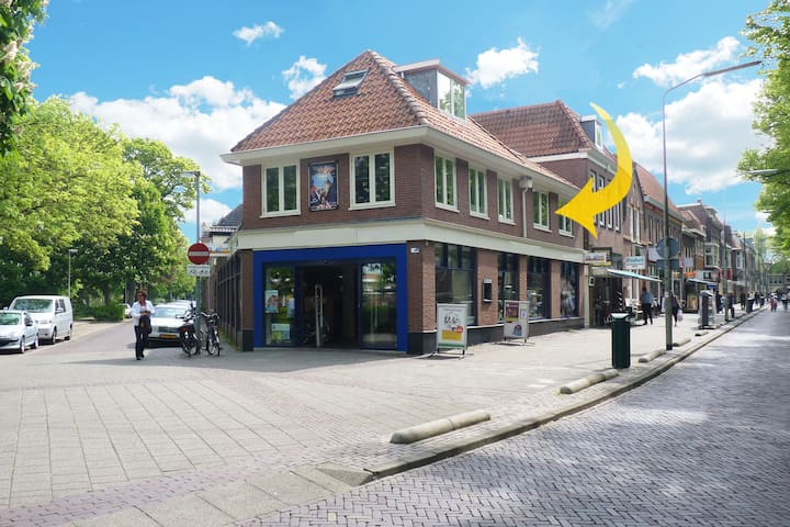 Comfortable apartment in the centre of Hoorn.