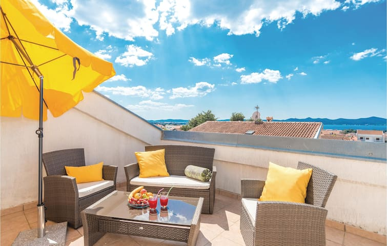Holiday apartment with 1 bedroom on 55m² in Zadar