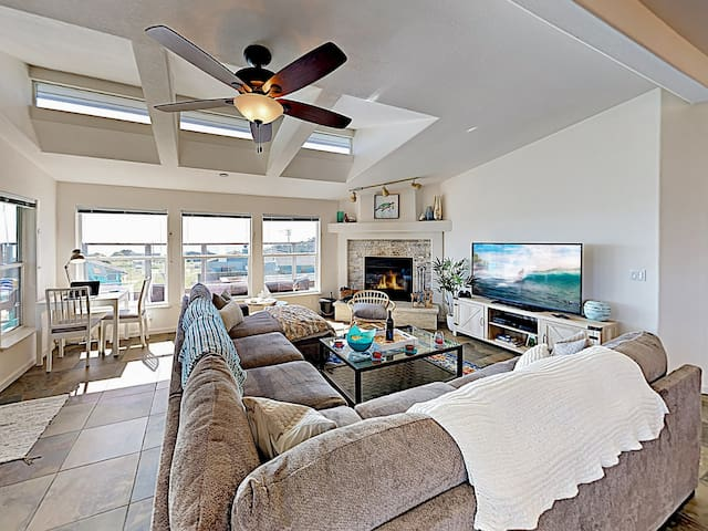 New Listing! Stunning Beach Getaway w/ Ocean Views