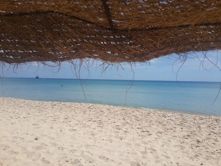 Agréable appartement â jinene hammamet vue sur mer