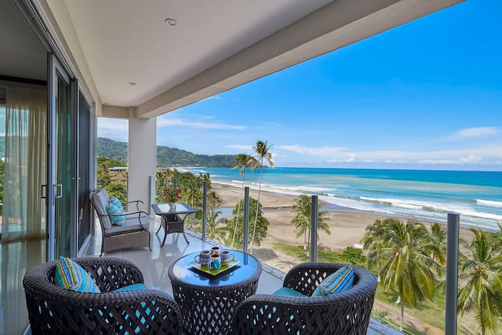 Luxurious Living on Jaco Beach steps from the Sea