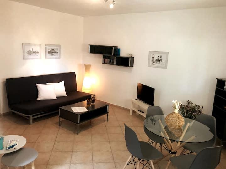 Comfy, stylish 2BR apartment - Nikiti beach No 2