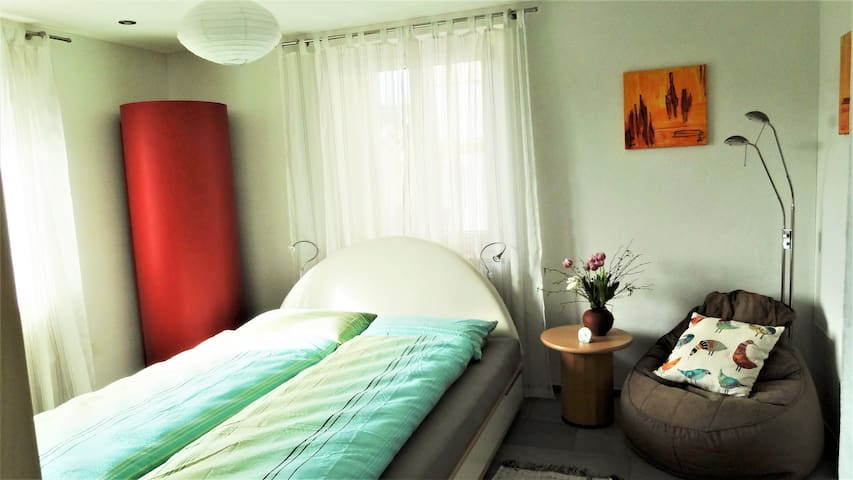 big one-room flat, garden - Flawil