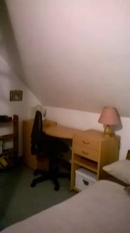 desk in second bedroom
